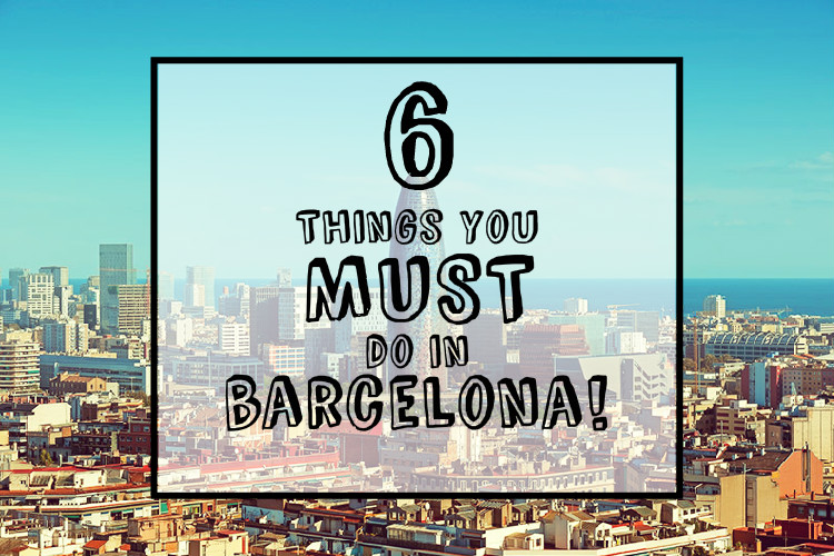 6 things to do BCN cover!