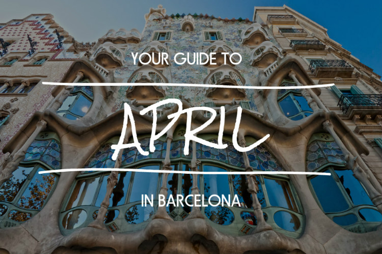 April in Barcelona