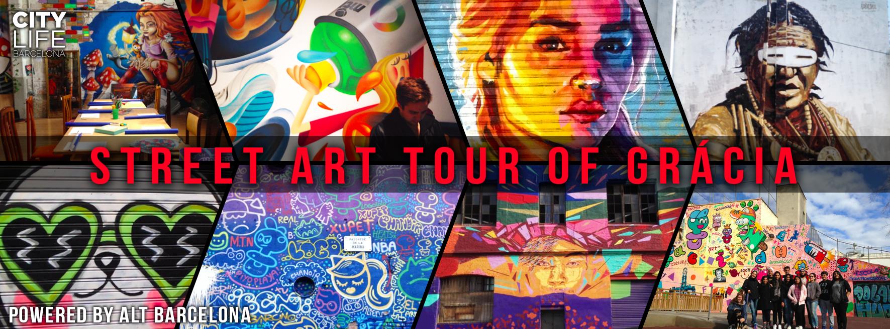 MEET & EXPLORE - Street Art Tour of Gràcia!