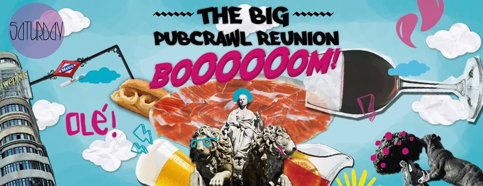 Booom PubCrawl banner