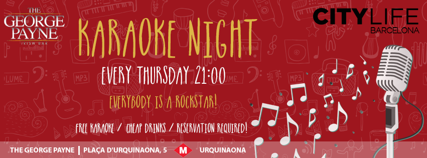 KARAOKE NIGHT - Everybody is a Rockstar!