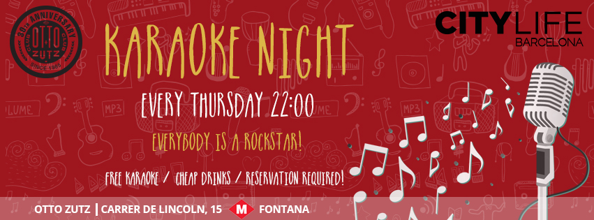 KARAOKE NIGHT - Everybody is a Rockstar!