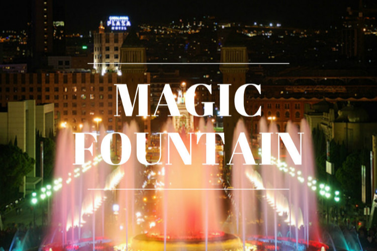 MAGIC FOUNTAIN COVER