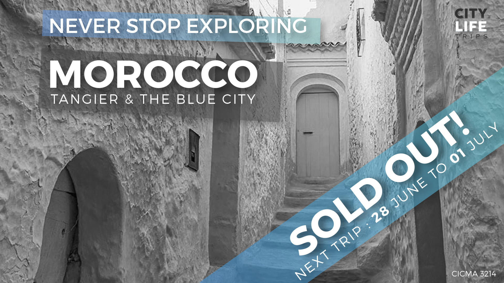 Northern Morocco #3 – Tangier & The Blue City (Meet us There)