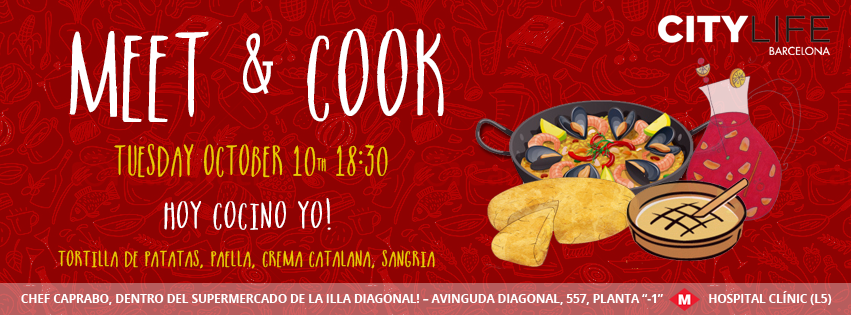 MEET & COOK: Hoy cocino yo - Traditional Spanish Dishes & Sangria!