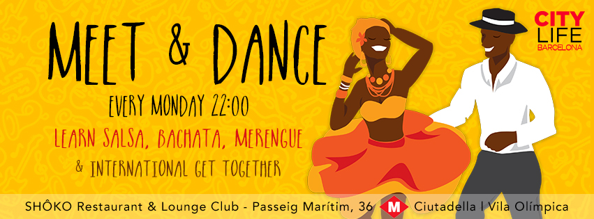 MEET & DANCE - Learn Salsa, Bachata, Merengue & International Get-Together!