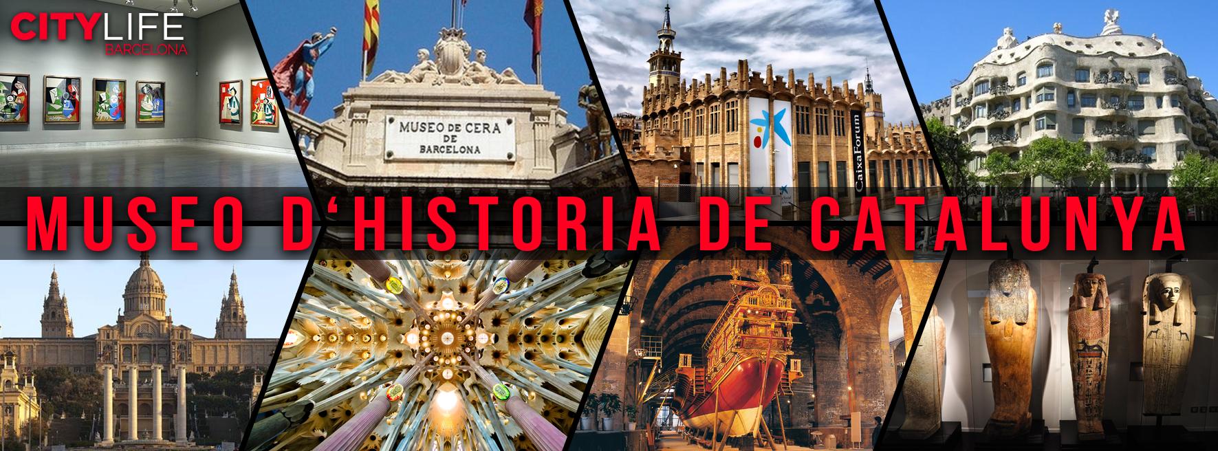 Discover the Museu d'Historia de Catalunya for FREE!