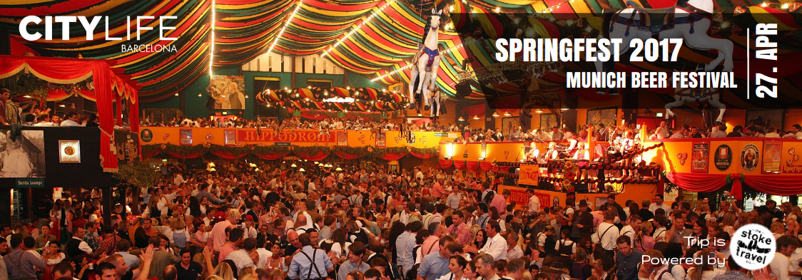 Springfest - The Beer Festival in Munich