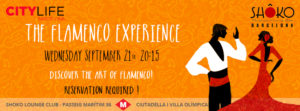 THE FLAMENCO EXPERIENCE bcn21SEPT