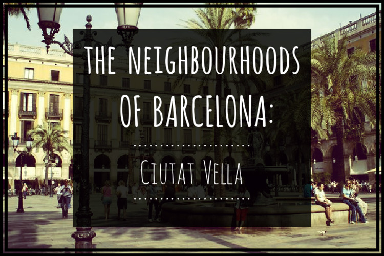 The neighbourhoods of barcelona