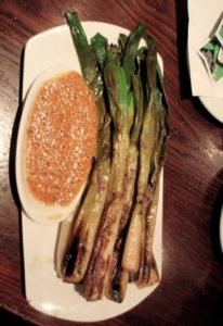 calcots_with_romesco_sauce