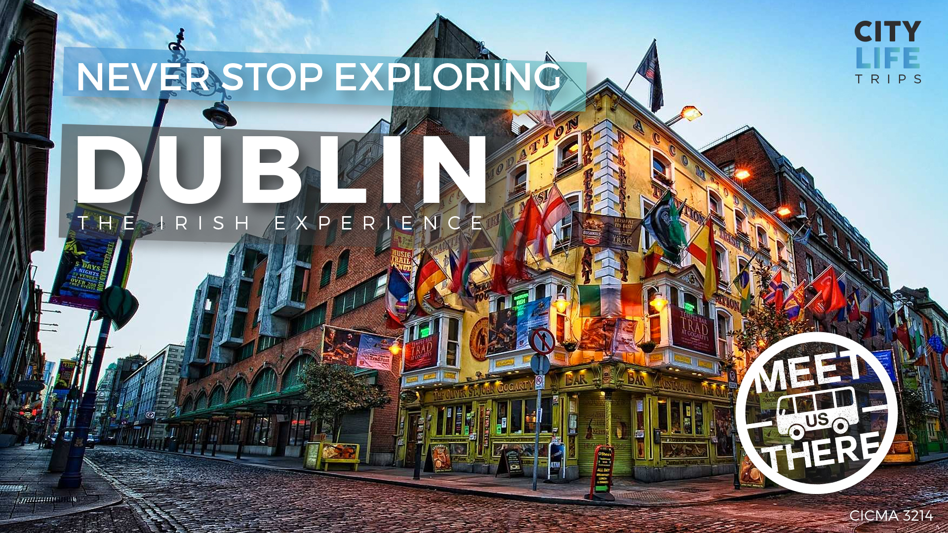 Dublin - The Irish Experience (Meet us There)