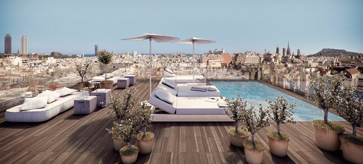 8 Rooftop Terraces In Barcelona Citylife Barcelona